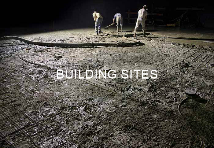 Série Building sites