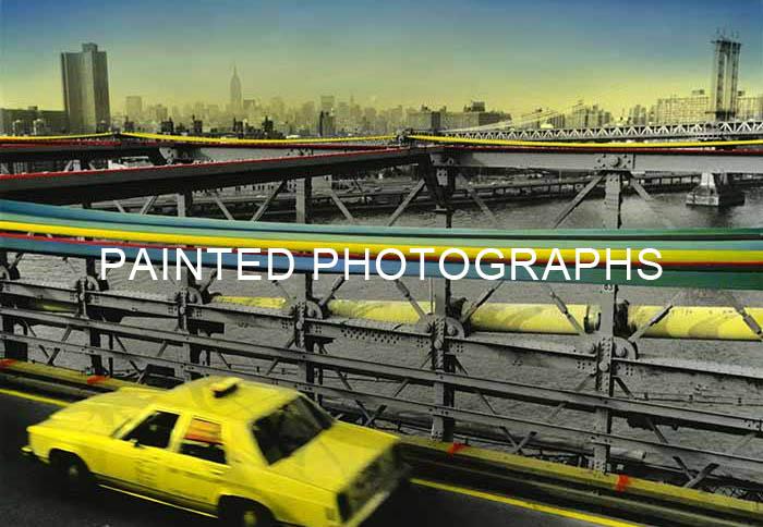 Série Painted Photos
